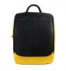 Plecak młodzieżowy Pixelbags żółty