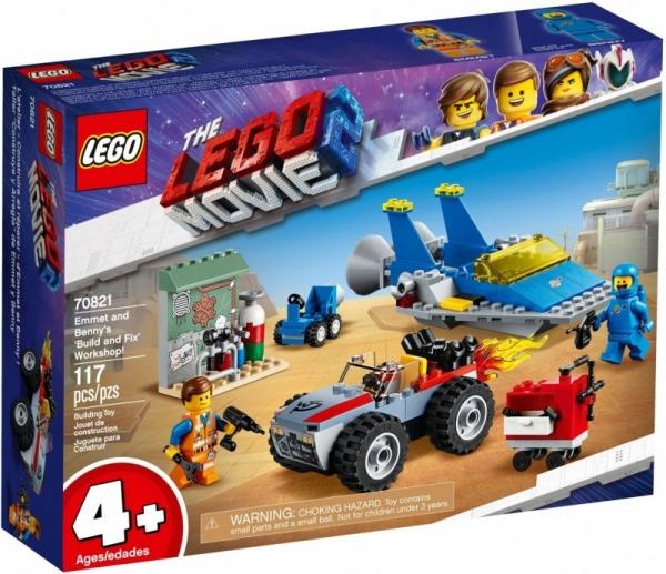 Lego Movie: Warsztat Emmeta i Benka (70821)