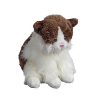 Kot Tusse brązowy 24cm MOLLI TOYS