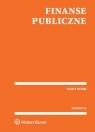 Finanse publiczne Teksty ustaw
