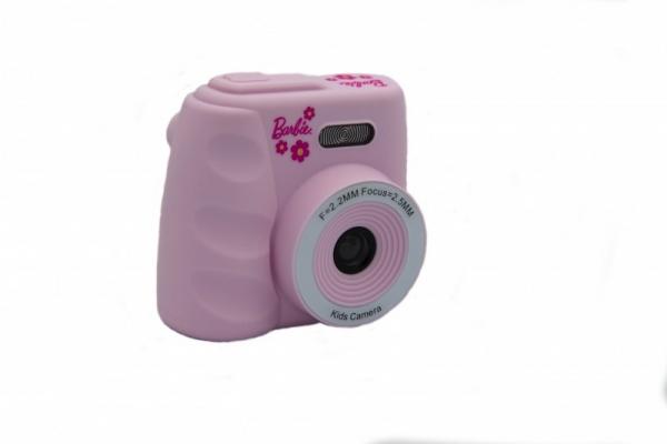 Cyfrowy aparat fotograficzny Barbie różowy (BB-KIDCAM20-P)