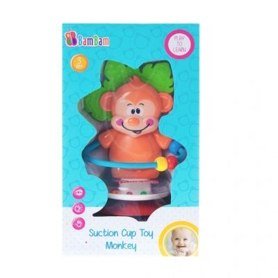 Grzechotka Bam Bam małpka na przyssawkę (466609)