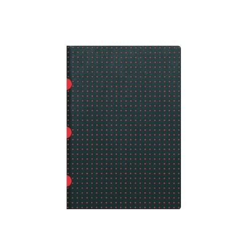 Notatnik A5 Cahier Circulo Black on Red
