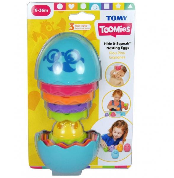 Tomy Toomies - Jajko matrioszka - Niebieski (E73080/E73193ZB)
