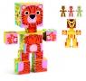 Klocki kartonowe Zwierzęta (DJ09109)