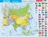 Puzzle ramkowe 72: Azja - mapa polityczna