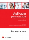 Aplikacje prawnicze 2012 Repetytorium Porównanie procedury cywilnej i