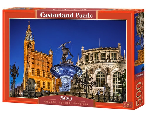 Puzzle 500: Gdańsk Neptune Fountain (B-52936)