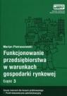 Funkcjonowanie przedsiębiorstwa w warunkach gospodarki rynkowej, cz. 3, zeszyt ćwiczeń