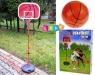 Duży zestaw do koszykówki