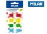Zakładki indeksujące Milan fluo 45 x 12 mm, 140 sztuk (4111604)