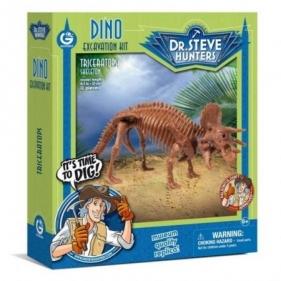 Zestaw do wykopalisk dinozaurów - Dr. Steve Hunters - Triceratops