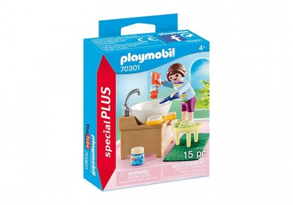 Figurki Special Plus 70301 Dziewczynka przy umywalce (70301)