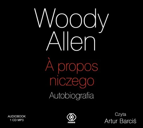 A propos niczego Autobiografia audio CD MP3  (Audiobook) Allen Woody