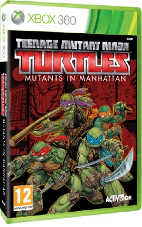 Teenage Mutant Ninja Turtless: MUTANTS IN MANHATTAN XB 360