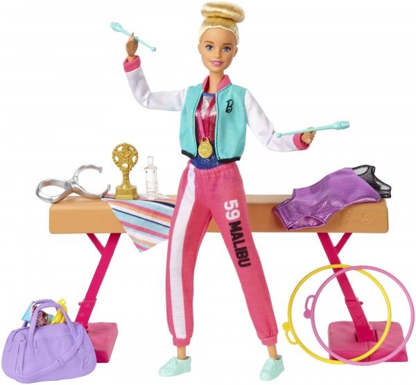 Barbie: Lalka gimnastyczka (GJM72)