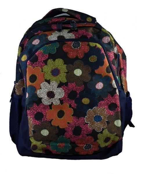 Plecak szkolny Kwiaty