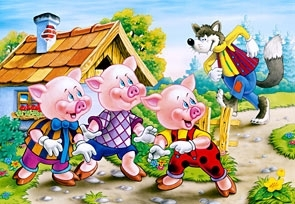 Puzzle 260 Three Little Pigs (26937) .