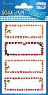 Naklejki na przetwory - owoce (59693)