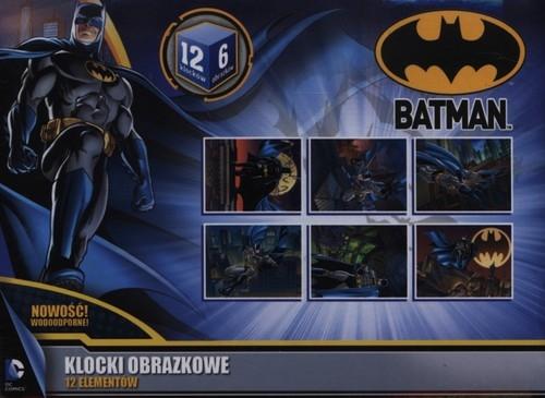 Batman Klocki obrazkowe 12 elementów  (0893)