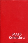 Kalendarz 2019 Mars czerwony
