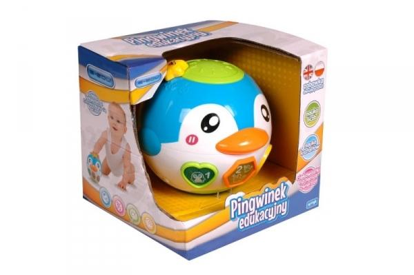 Edukacyjno - muzyczna kula pingwin (X-ED-PK0062)