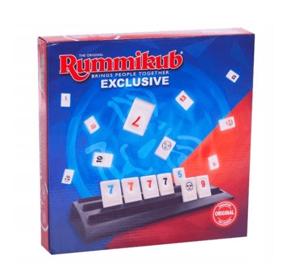 Rummikub: Mundo Exclusive (LMD3603) (Uszkodzone opakowanie)