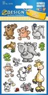 Naklejki papierowe. Zwierzęta (53193)