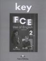 FCE Use of English 2 Answer Key