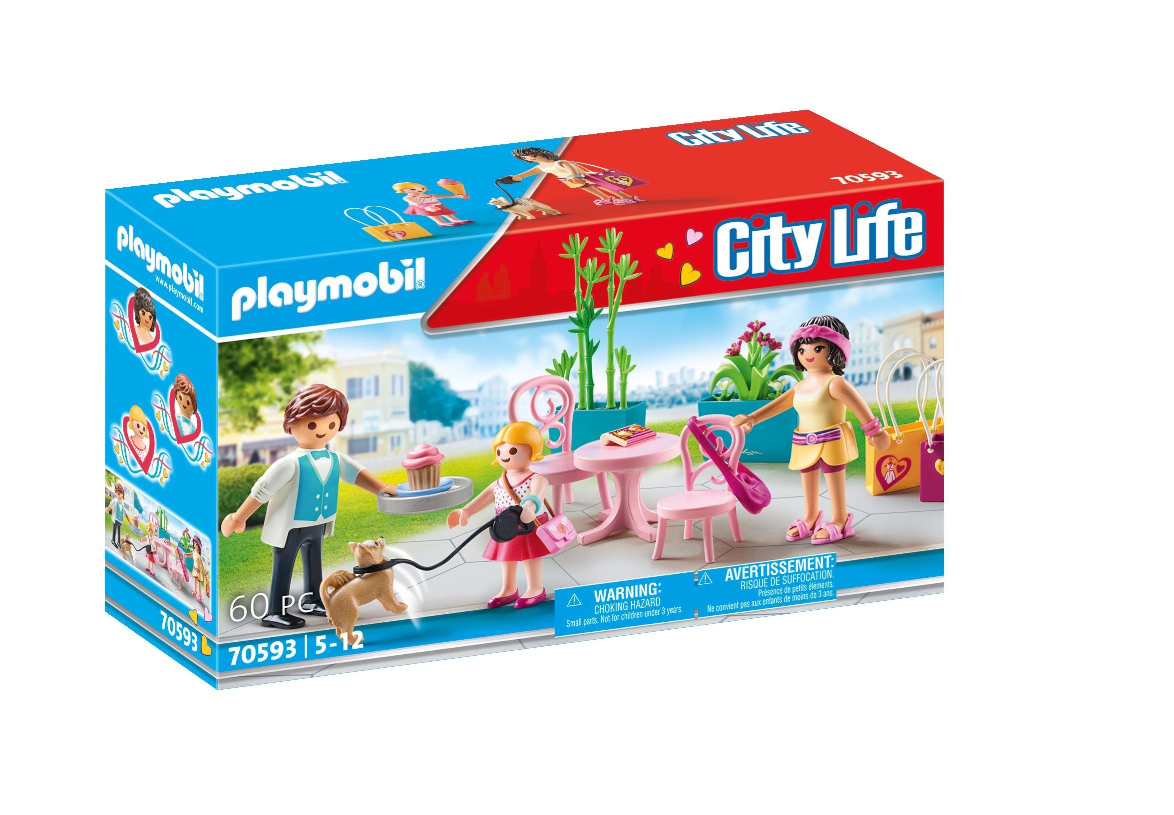 Playmobil City Life: Modna kawiarnia (70593)
