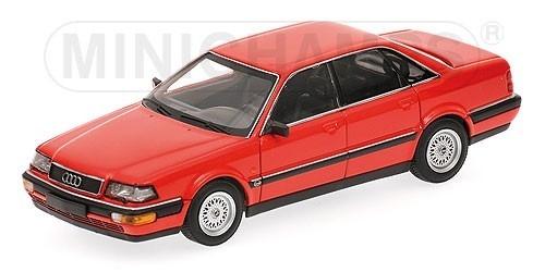 Audi V8 1988 (red)