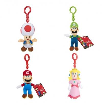 Super Mario Pluszowe breloczki S2 - Dostępność 2/04