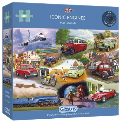 Puzzle 1000 Kultowe pojazdy mechaniczne G3