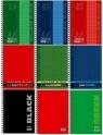 Kołonotatnik A4 w kratkę 80 kartek mix okładek