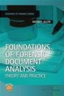 Foundations of Forensic Document Analysis Michael Allen