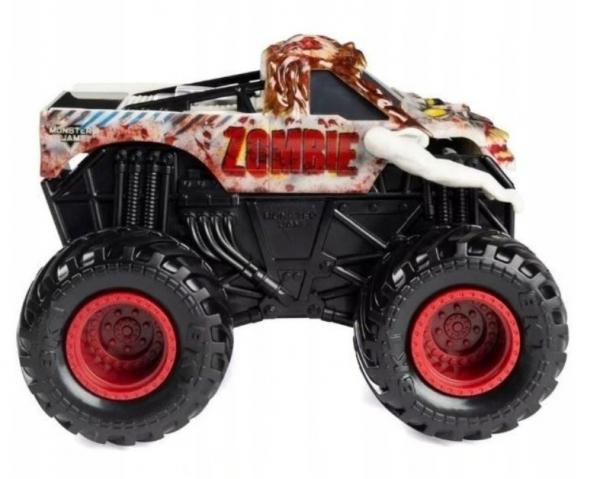 Pojazd MONSTER JAM Auto Warczące opony Zombie (6044990/20126267)