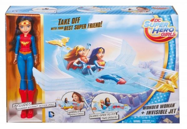 DC SUPER HERO Odrzutowiec Wonder Woman (DYN05)