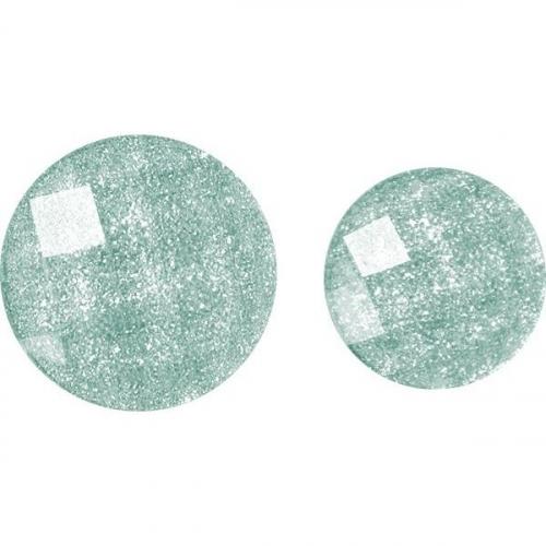 Kryształki samoprzylepne - niebieskie