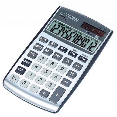 Kalkulator na biurko Citizen CDC-112WB
