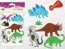 Dodatek dekoracyjny Craft-fun naklejka pianka dinozaury