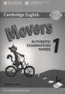 Cambridge English Movers 1 Authentic Examination Papers Answer booklet