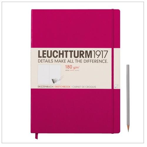 Szkicownik Master Leuchtturm1917 gładki malinowy 345002