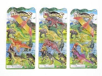 Figurka Adar zestaw 4 dinozaurów (518940)