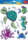 Naklejki na okno - Zwierzęta morskie (54994)