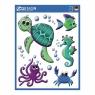 Naklejki na okno Z Design - Zwierzęta morskie (54994)