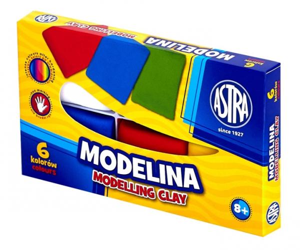 Modelina Astra, 6 kolorów (83911901)
