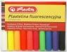 Plastelina Herlitz 10 kolorów fluorescencyjnych (9562943)