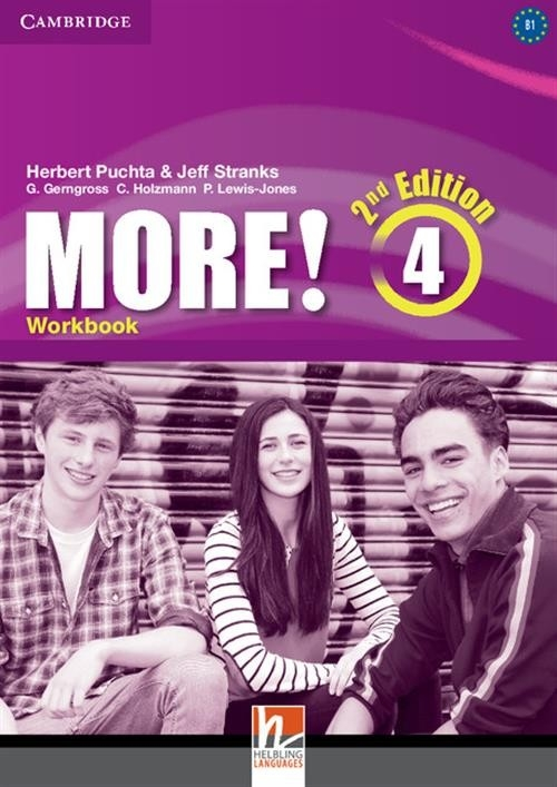More! Level 4 Workbook Puchta Herbert, Stranks Jeff, Gerngross Günter, Holzmann Christian, Lewis-Jones Peter