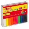 Plastelina Herlitz, 10 kolorów - fluorescencyjna (9562943)