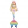 Barbie Dreamtopia: Lalka Syrenka tęczowa przemiana (GTF89)Wiek: 3+